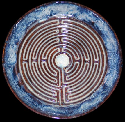 Blue Edge Labyrinth