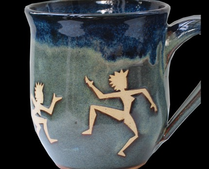 Dancing Ladies Mug 1