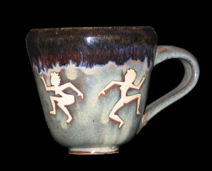 Dancing Ladies Mug 2