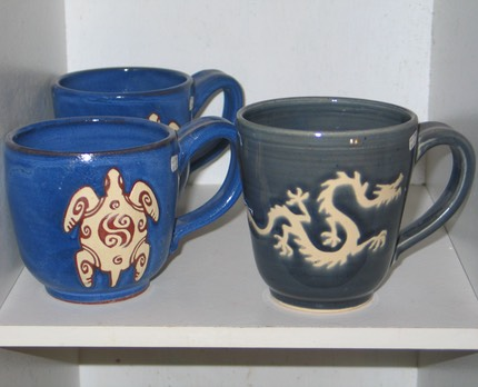 Sea Turtle Mug & Dragon Mug